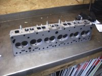 F Cylinder Head Refinished 03/1969 - 08/1969