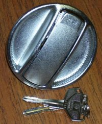 Gas Cap With Key All Land Cruiser with Unleaded Necks