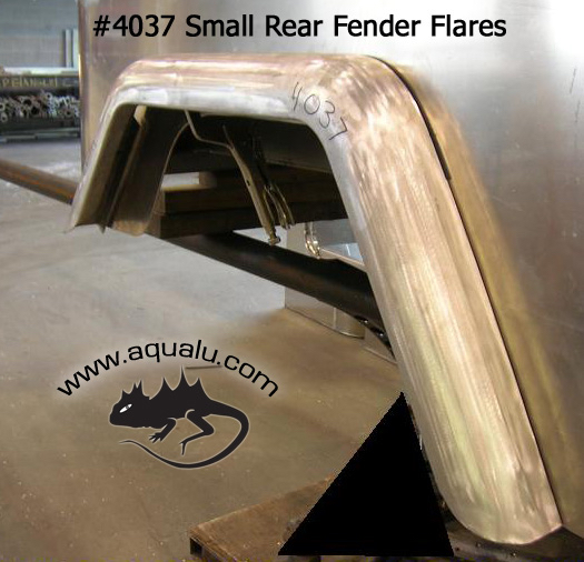 "FJ40 / FJ40 Rear Fender Flare - Small 3 1/2"" Wide - Sold as Pair"
