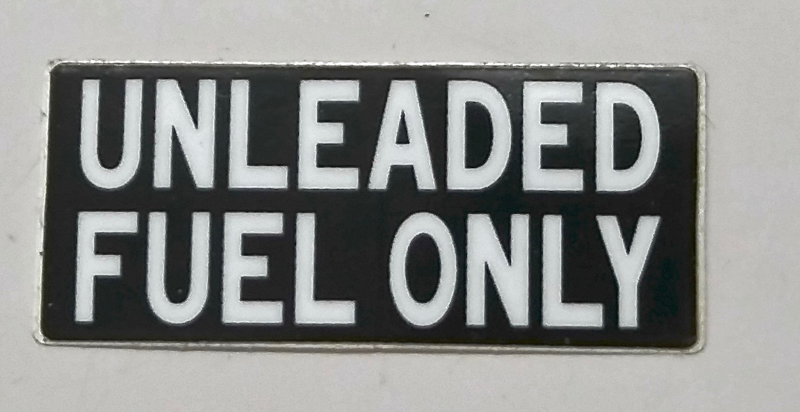Fuel Caution Decal for 91-97 80 Series Land Cruisers