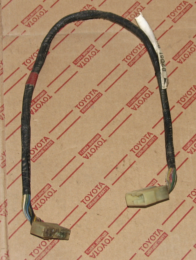 82051 90800 U wiring and clamp cruiserparts net, toyota landcruiser parts