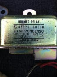 Headlamp Dimmer Relay HJ60, BJ60