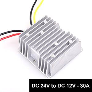 24V to 12 Volt Radio Voltage Converter