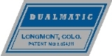 Dualmatic Locking Hubs Decal - Blue