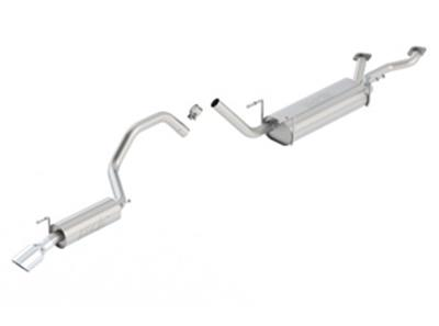 Borla Stainless Touring Muffler & Tailpipe 1998-2007 - Click Image to Close
