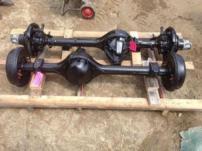 Front Axles & Related Parts