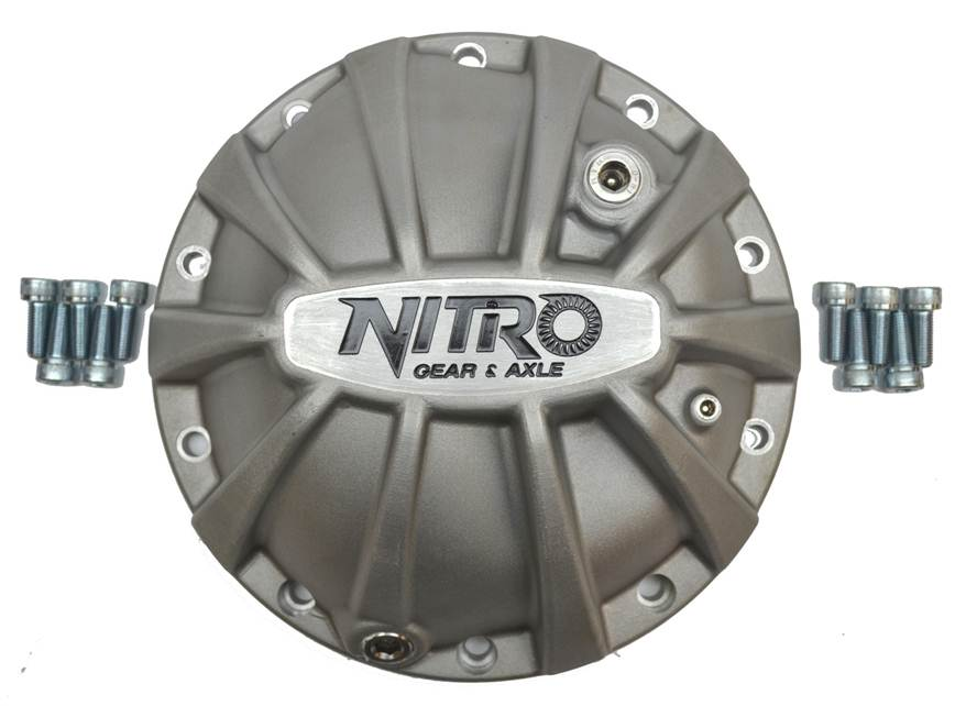 "Nitro Xtreme Diff covers for ALL 9.5"" Semi Float Landcruiser"